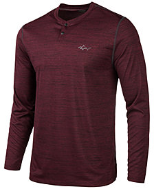 Attack Life by Greg Norman Men's Performance Henley, Created for Macy's