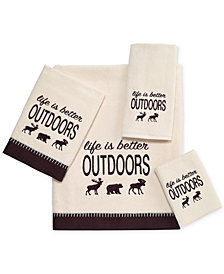"Avanti Life Is Better Outdoors 16"" x 30"" Hand Towel"