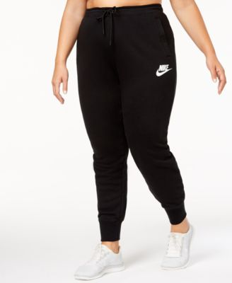 nike plus size workout clothes - macy's