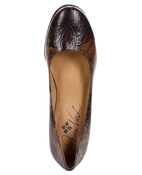 Patricia Nash Anita Block Heel Pumps Pumps Shoes Macy S