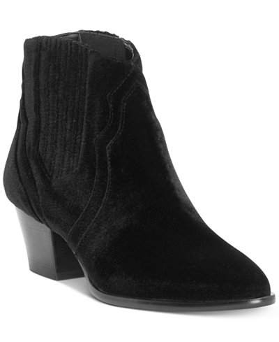 Anna Sui Loves I.N.C. Andriaa Ankle Booties, Created for Macy's