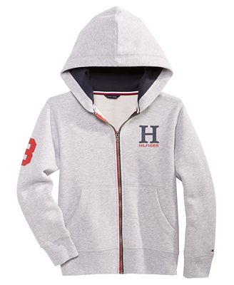 Tommy Hilfiger Graphic Print Hoo Little Boys
