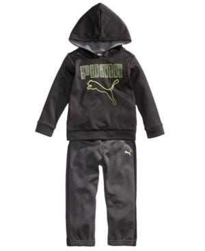 Puma 2-Pc. Fleece Pullover...
