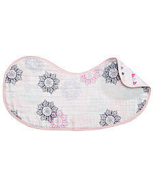 aden by aden + anais Baby Girls Cotton Printed Burpy Bib