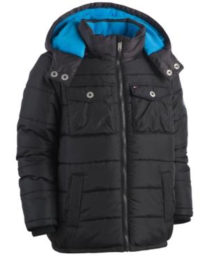 Tommy Hilfiger Alexander Hooded Puffer Coat Toddler Boys (2T5T)