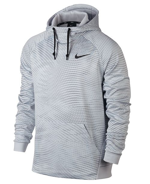 2b03077e8935 Nike Men s Therma Training Hoodie   Reviews - Hoodies   Sweatshirts ...