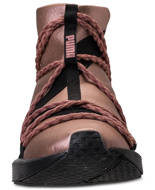 low priced 13ed7 1d0fd ... Puma Women s Fierce Rope Copper Velvet Rope Training Sneakers from  Finish ...