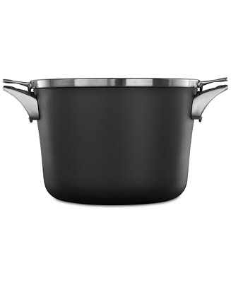 calphalon premier space saving hard anodized non stick 8 qt stockpot lid cookware. Black Bedroom Furniture Sets. Home Design Ideas