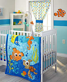 Disney Finding Nemo 3-Pc. Crib Bedding Set