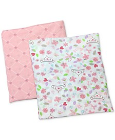 Happily Ever After Cotton Crib Sheet 2-Pack