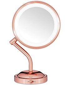 Reflection Rose Gold Light Mirror