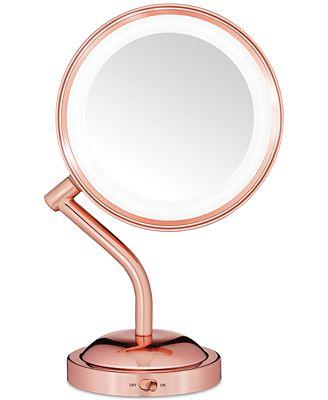 Conair Reflection Rose Gold Light Mirror Bathroom Accessories