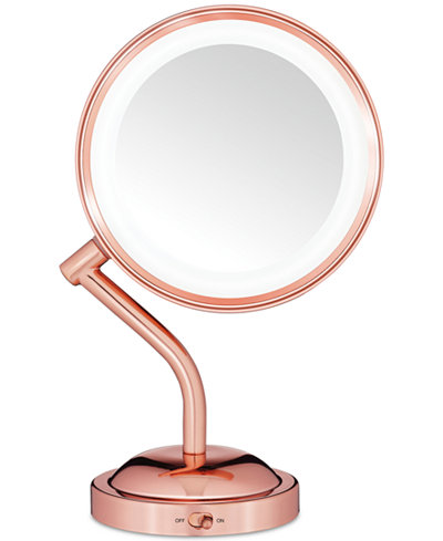 Conair Reflection Rose Gold Light Mirror Bathroom