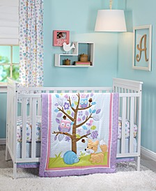 Adorable Orchard 3-Pc. Crib Bedding Set