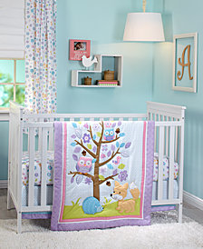 Little Love by NoJo Adorable Orchard 3-Pc. Crib Bedding Set
