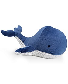 Zachary Plush Whale Pillow
