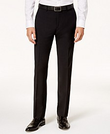 Men's Slim-Fit Active Stretch Wool Suit Pants, Created for Macy's
