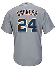Majestic Men's Miguel Cabrera Detroit Tigers Player Replica CB Jersey