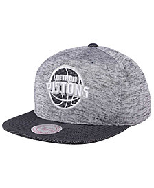 Mitchell & Ness Detroit Pistons Space Knit Snapback Cap