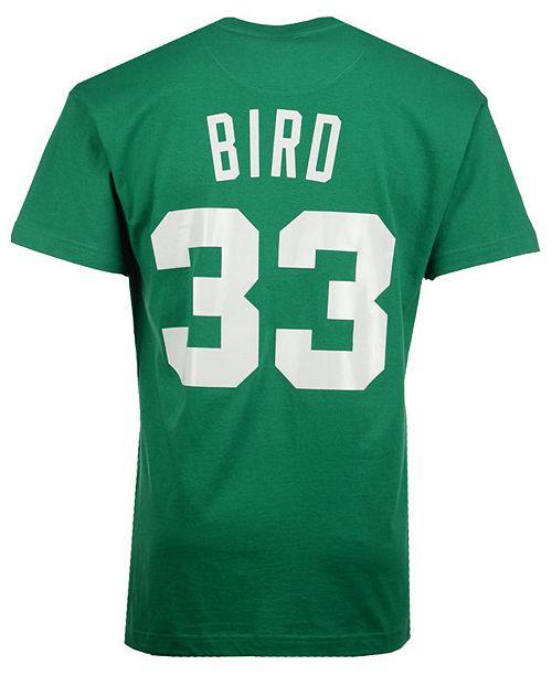 f4b4ae91cf6 ... Mitchell   Ness Men s Larry Bird Boston Celtics Hardwood Classic Player  ...