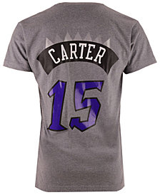 Mitchell & Ness Men's Vince Carter Toronto Raptors Hardwood Classic Player T-Shirt