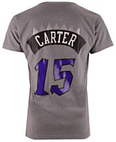 afb10aef Mitchell & Ness Men's Vince Carter Toronto Raptors Hardwood Classic Player T -Shirt
