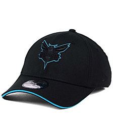 New Era Charlotte Hornets Black Pop 39THIRTY Cap