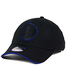 New Era Dallas Mavericks Black Pop 39THIRTY Cap