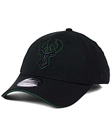 New Era Milwaukee Bucks Black Pop 39THIRTY Cap