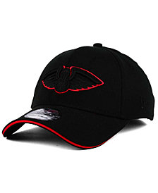 New Era New Orleans Pelicans Black Pop 39THIRTY Cap