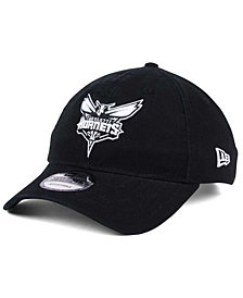 New Era Charlotte Hornets Black White 9TWENTY Cap