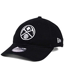 New Era Denver Nuggets Black White 9TWENTY Cap