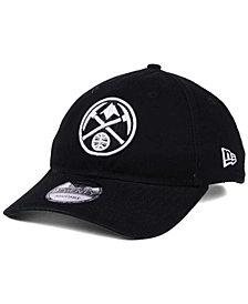 New Era Denver Nuggets Black White 9TWENTY Cap