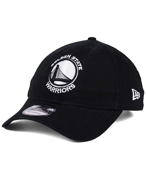 9300892ca07 New Era Golden State Warriors Black White 9TWENTY Cap - Sports Fan ...