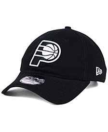 New Era Indiana Pacers Black White 9TWENTY Cap