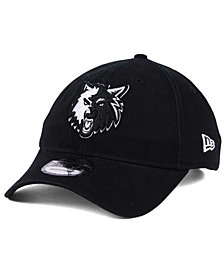New Era Minnesota Timberwolves Black White 9TWENTY Cap