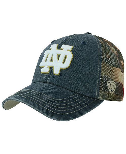 15e9d8eaa1 Top of the World Notre Dame Fighting Irish Flagtacular Cap & Reviews ...