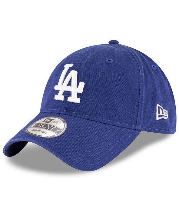 New Era Los Angeles Dodgers On Field Replica 9TWENTY Fitted Cap