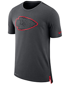 Nike Men's Kansas City Chiefs Travel Mesh T-Shirt
