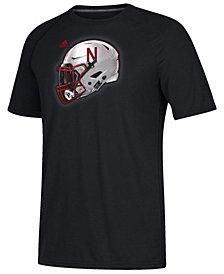 adidas Men's Nebraska Cornhuskers Helmet T-Shirt