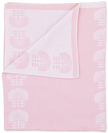Petunia Pickle Bottom Dreaming in Dax  100% Cotton Reversible Jacquard Crib Blanket