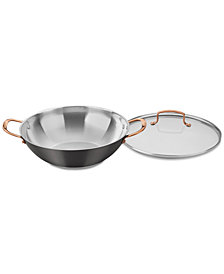 Cuisinart Onyx Black & Rose Gold All-Purpose Pan & Lid, Created for Macy's