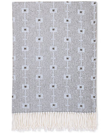Petunia Pickle Bottom Southwest Skies Geo-Print Crib Blanket with Fringe