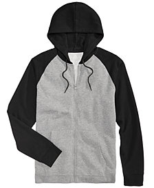 American Rag Men's Raglan Full-Zip Hoodie, Created for Macy's
