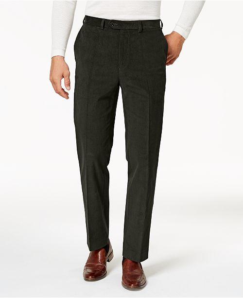 4bd71189183 Lauren Ralph Lauren Men s Classic-Fit Stretch Corduroy Dress Pants ...
