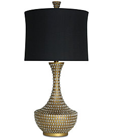Harp & Finial Casablanca Table Lamp