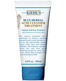 Kiehl's Since 1851 Blue Herbal Acne Cleanser Treatment, 5-oz.