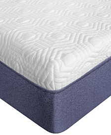 "SensorGel 12"" Plush Mattress, Quick Ship, Mattress In A Box- King"