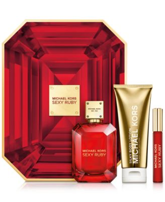 Michael Kors 3-Pc. Sexy Ruby Deluxe Gift Set - Shop All Brands ...