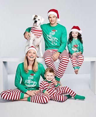Family Pajamas Elfing Around Pajama Sets, Created for Macy's